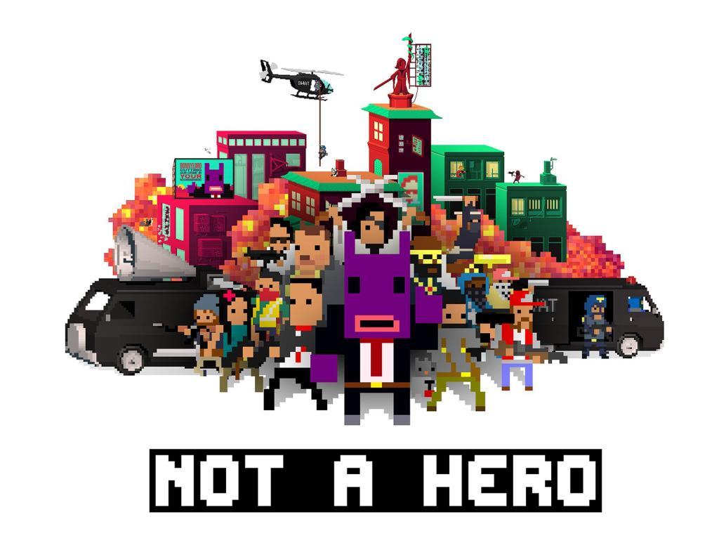 Jeu Not A Hero (Dématérialisé - Steam)
