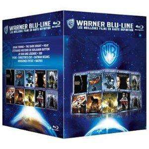 Coffret 10 films Warner Blu-line (BluRay) : Gran Torino, 300, Batman begins...
