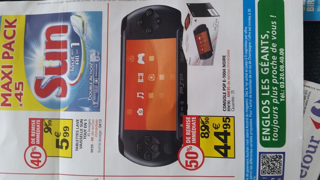 Console Sony PSP E-1004