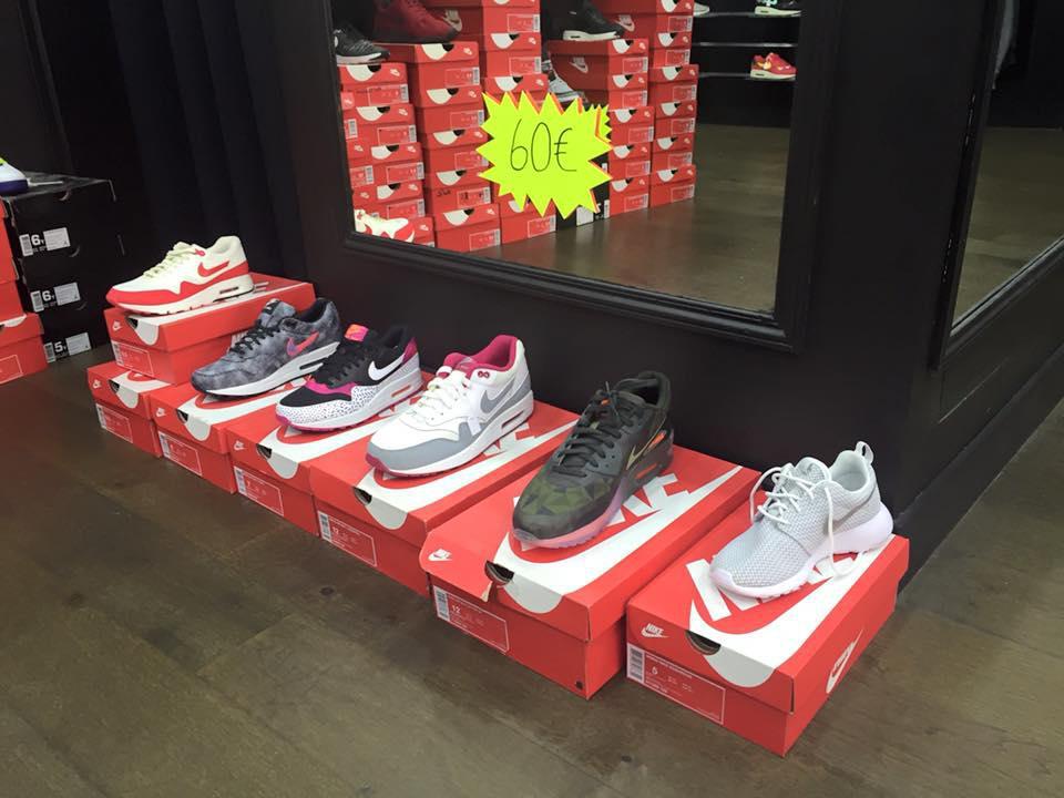 Sneakers Nike et Jordan