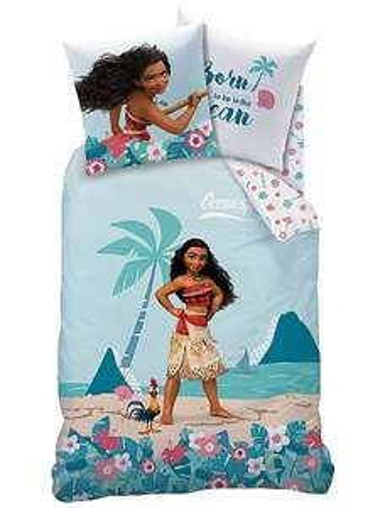 Sélection de parures de lit en promotion - Ex : Parure de draps Vaiana Disney