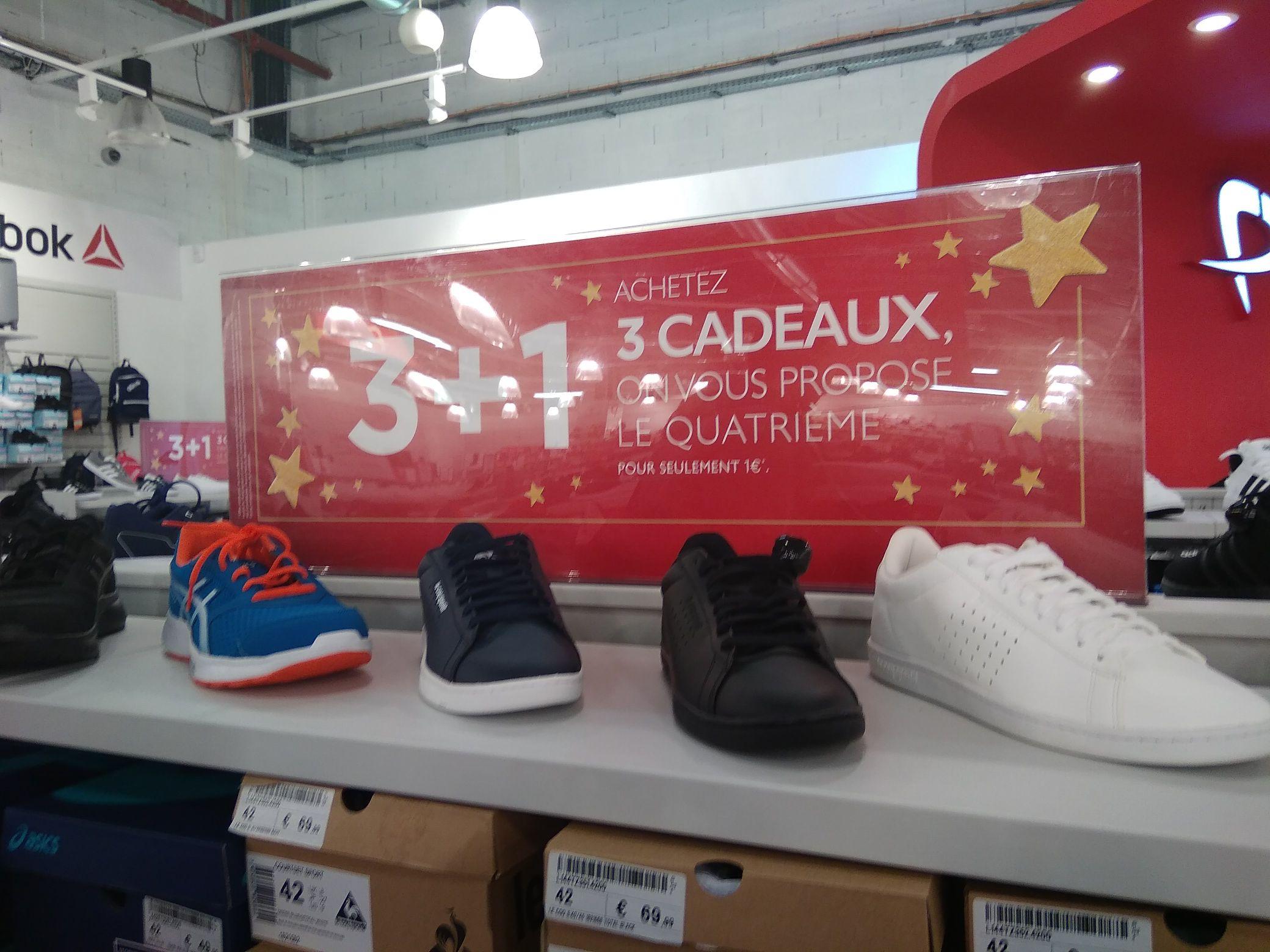 3 Paires de chaussures achetées = La 4 iem a 1€ - Pitrarosso  MArseille (13)