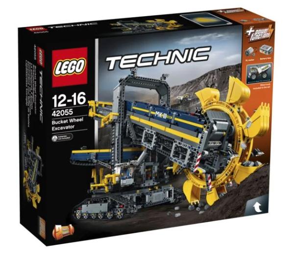 Jeu de Construction Lego Technic - La pelleteuse à godets - 42055