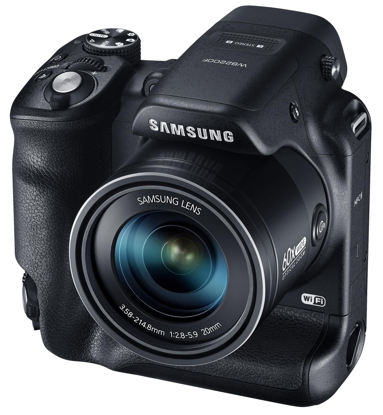 Appareil Photo Bridge Samsung WB2200F Wifi/NFC - Noir