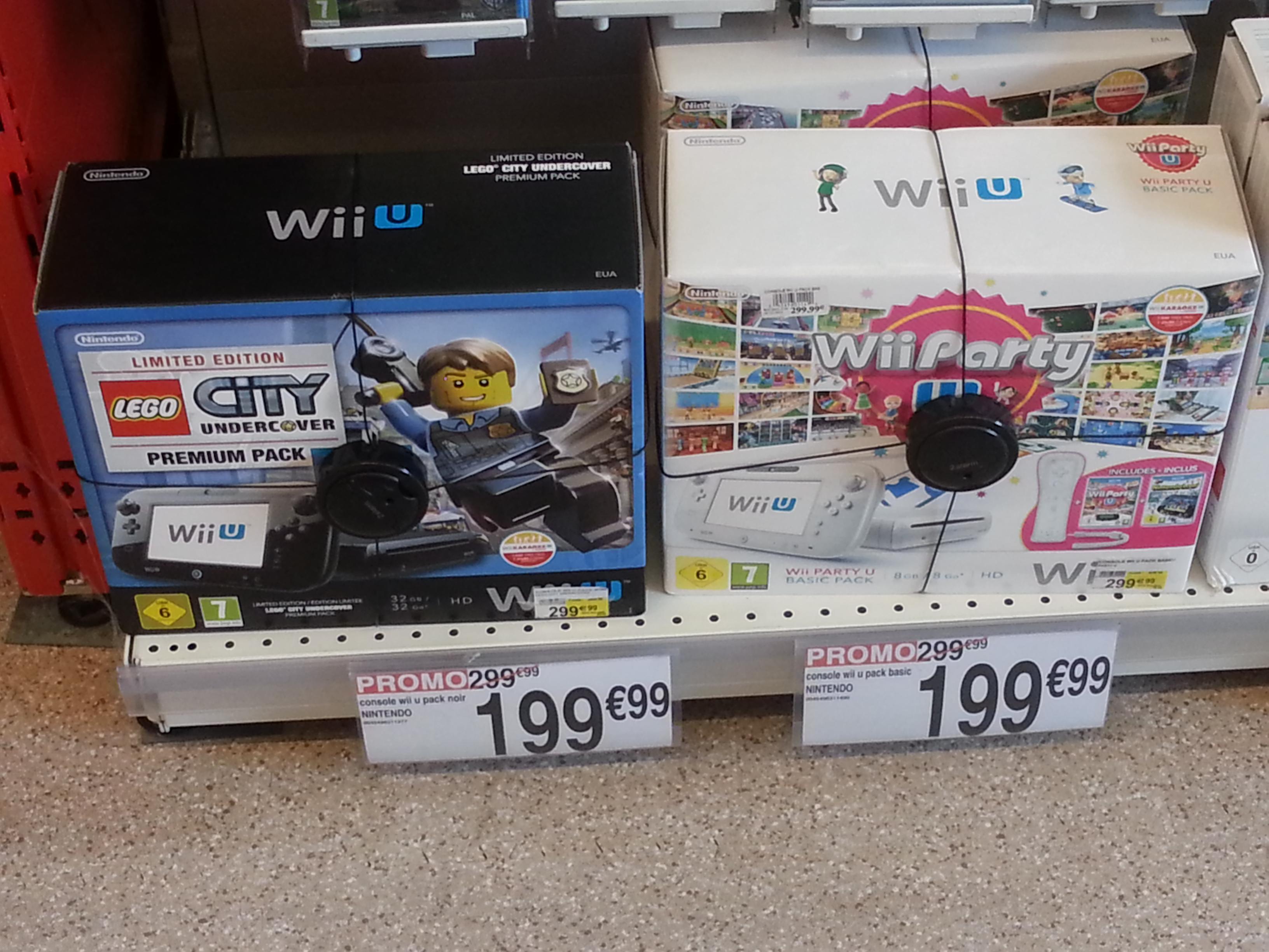 Console Nintendo Wii U Premium 32Go + Lego City Undercover