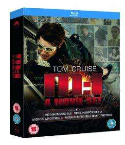 Coffret Blu-Ray Mission impossible Quadrilogy