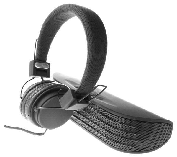 Kit casque + enceinte sans fil Vivitar Infinite VHPSP-2 (noir ou bleu)
