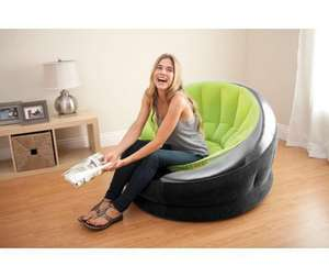 Fauteuil gonflable Intex Onyx In & Out vert