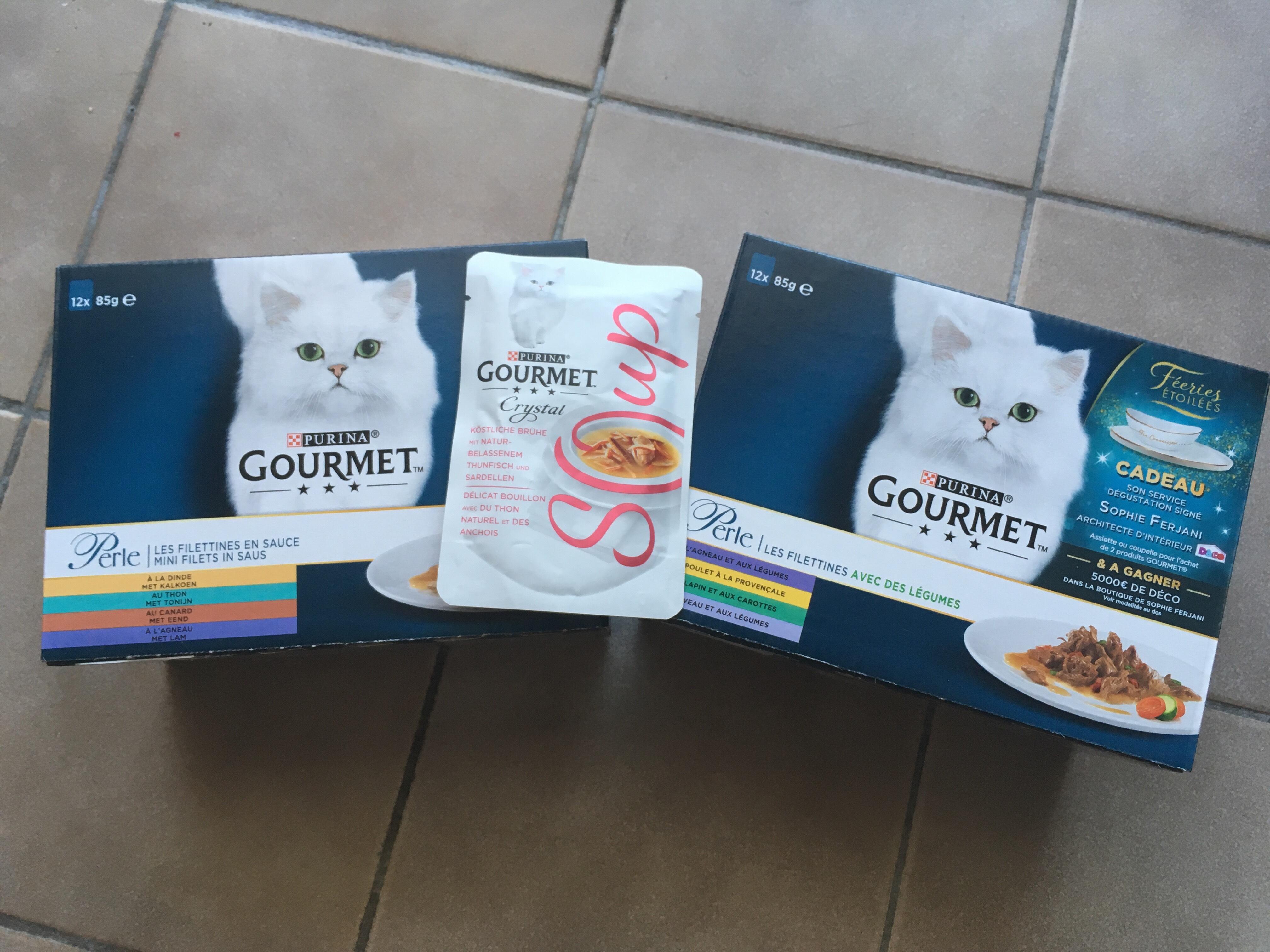 Boite de 24 sachets de nourriture pour chat Purina Perle/Gold - Montpellier (34)
