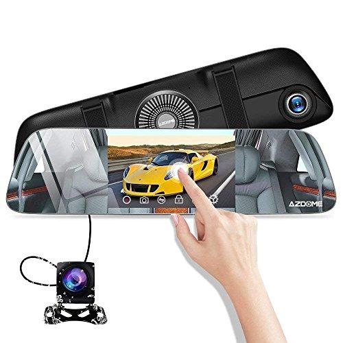 Caméra embarquée AZDOME avec rétroviseur  - Full HD (Vendeur tiers)