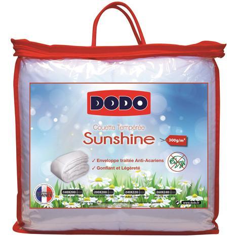Couette Tempérée anti-acariens Dodo Sunshine 140 x 200 cm