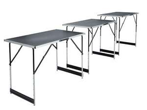 Lot de 3 tables pliantes multi-usages