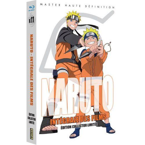 L'intégrale des films Naruto en Blu-Ray (62,20€ avec le code Clubr8)