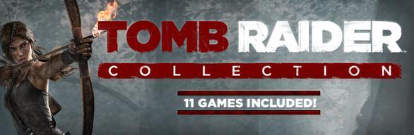 Bundle de 11 Jeux Tomb Raider + DLC sur PC (Steam)