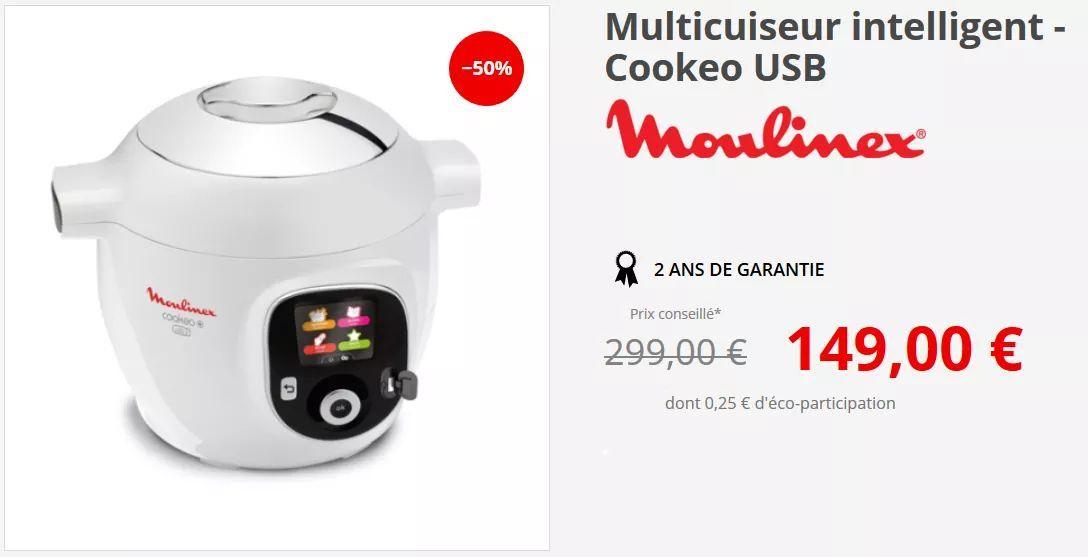 Multicuiseur Cookeo+ USB 1600w CE853100 à Comptoir de Campagne Lancié (69)