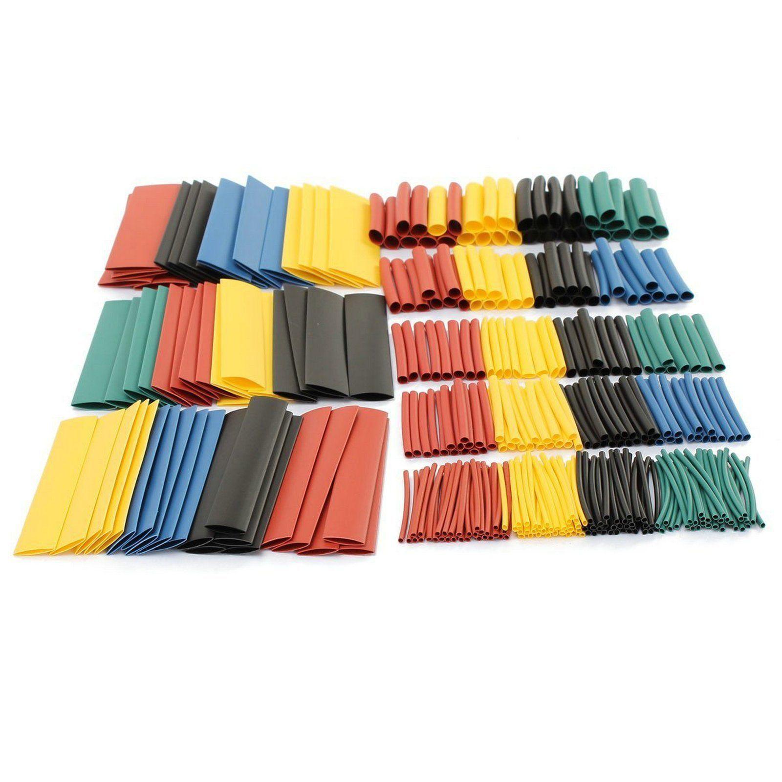 328 Gaines Thermorétractables - Tailles & Coloris Mixtes
