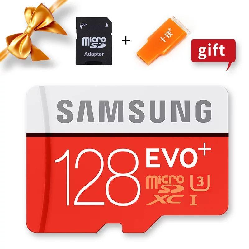 Carte mémoire micro SDHC Samsung Evo u3 class10 - 128 Go avec adaptateur