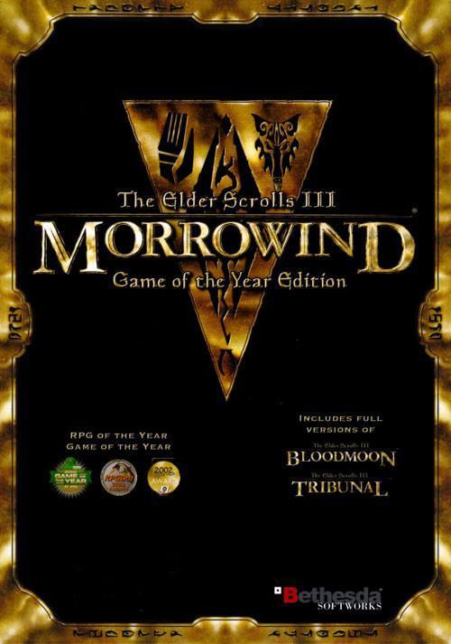 Jeu PC (dématérialisé) The Elder Scrolls: Morrowind GOTY