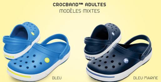 Chaussures Crocs Crocband enfants et adultes