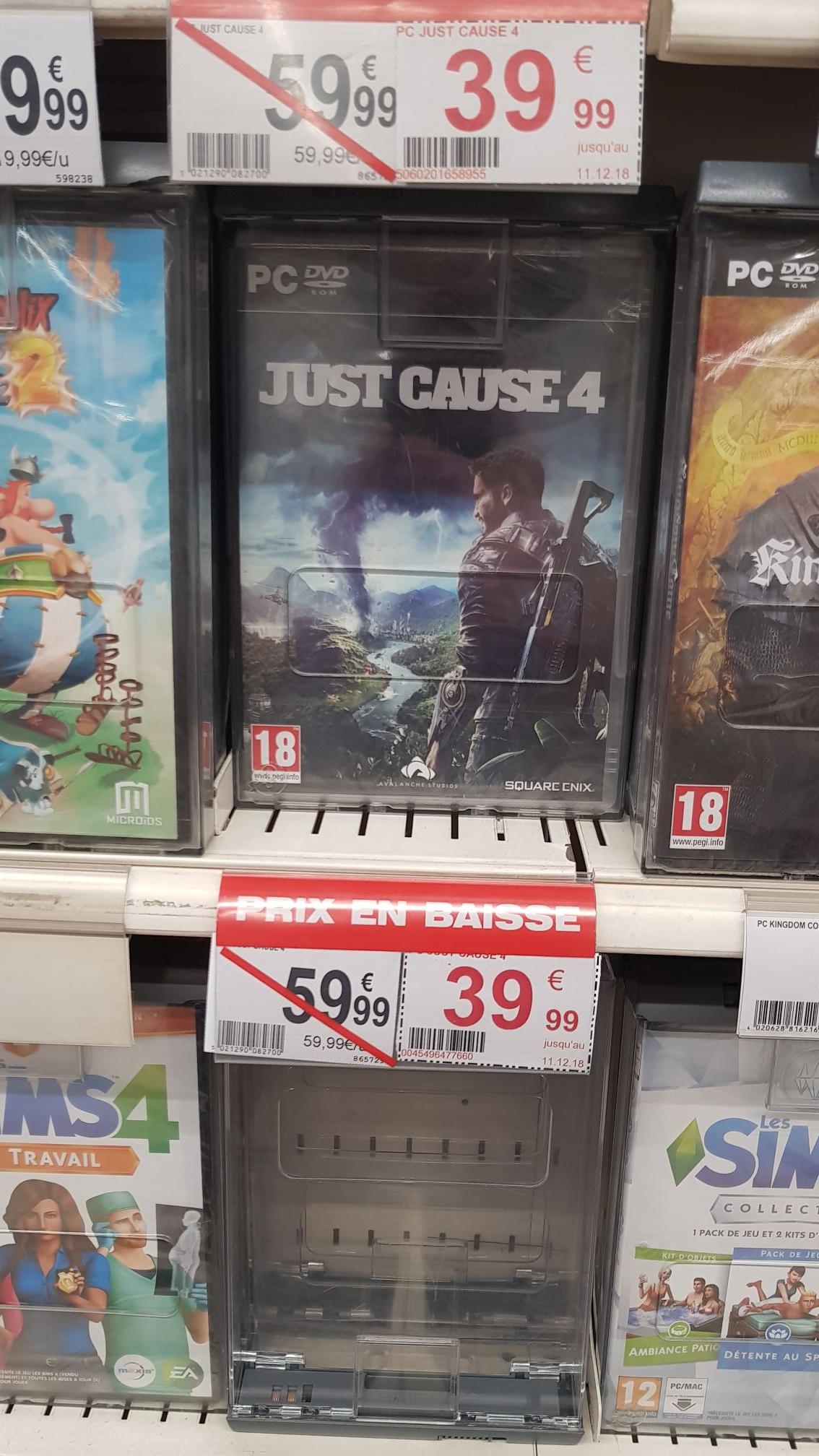 Sélection de jeux PC en promotion -  Ex : Just Cause 4 sur PC - Le Pontet (84)
