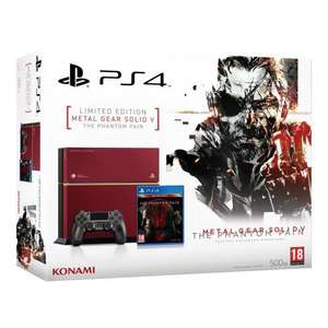 Précommande : Console PS4 500 Go - Edition limitée + Metal Gear Solid V : The Phantom Pain - Edition Day One