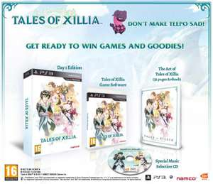 Tales of Xillia Day One Edition sur PS3