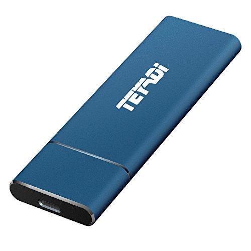 SSD externe M.2 Teyadi - 512Go, Bleu (vendeur tiers)