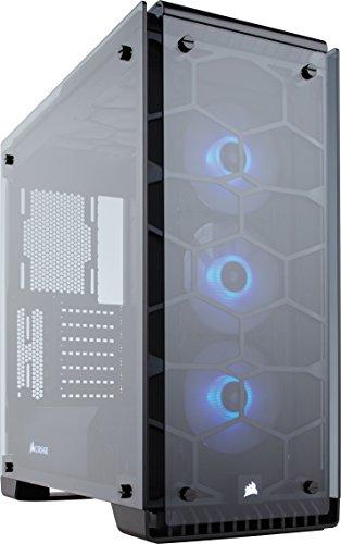 Boîtier PC Gaming  Corsair Crystal 570X RGB (Moyenne Tour ATX)