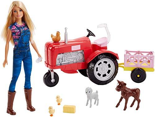 Coffret Barbie Métiers Ferme FRM18