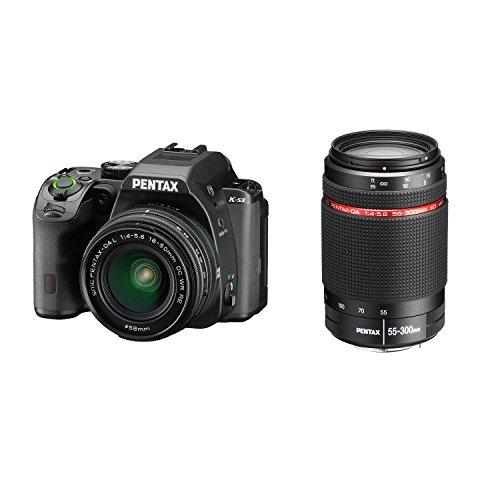 Pack Appareil photo Pentax K-S2 Reflex numérique + Objectif DAL 18-50mm WR + Objectif DAL 55-300m WR