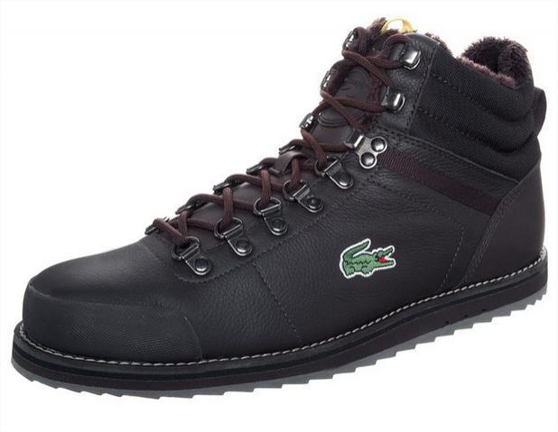 Chaussures Lacoste Jarmund - Dark brown (Taille 44 au 46)
