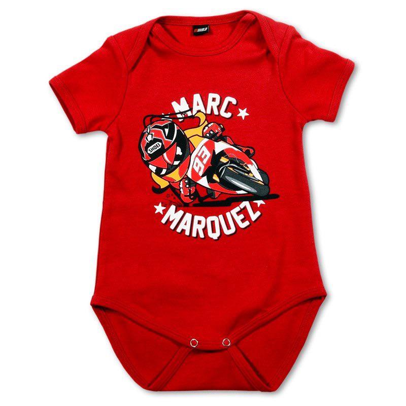 Body Marc Marquez 93 - Rouge (Taille: 9 et 18 mois)