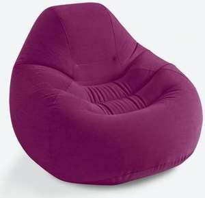 Fauteuil poire Intex In & Out Deluxe - Violet