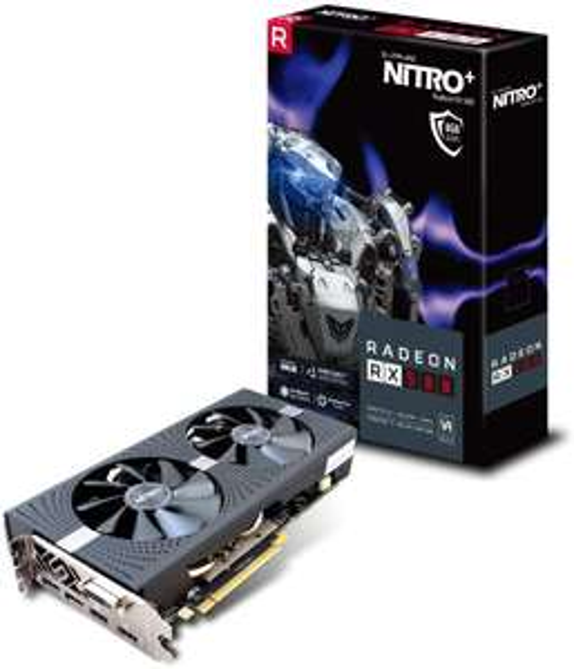 Carte Graphique Sapphire Nitro+ AMD Radeon RX 580 8 Go PCI Express