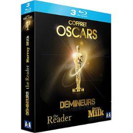 Coffret Oscars - The Reader + Harvey Milk + Démineurs - 3 Blu-Ray