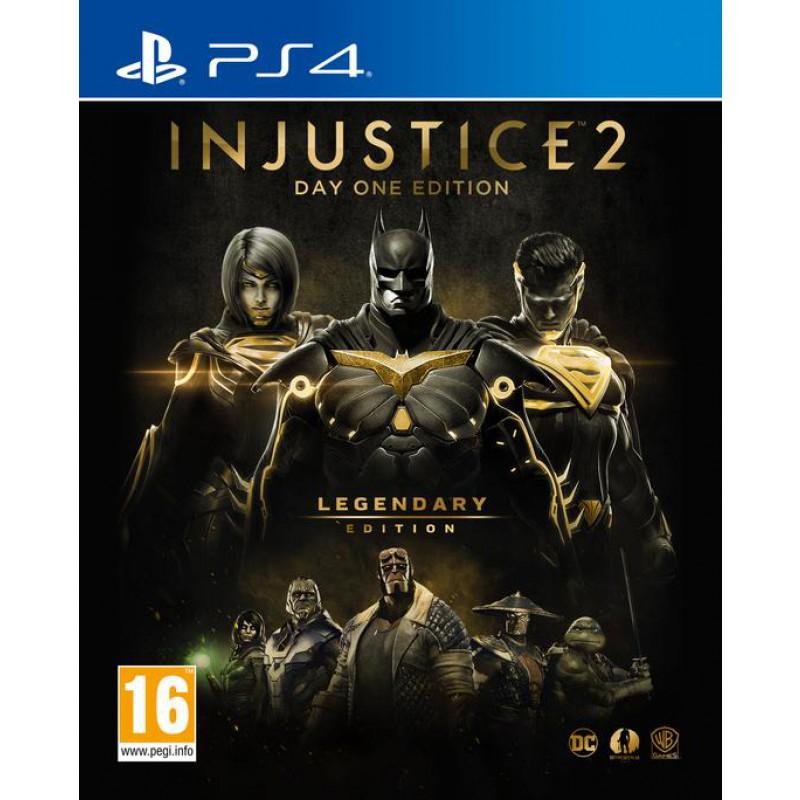 Injustice 2 Legendary Edition Day One Edition : Le Jeu + Tous les DLC + Steelbook sur PS4