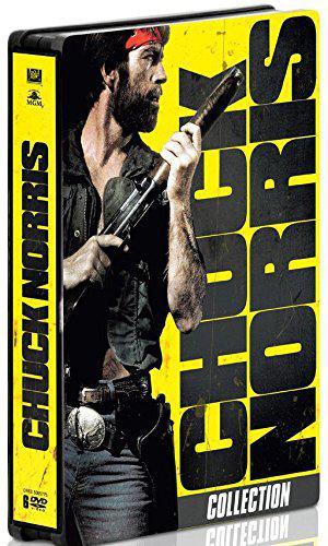 Coffret 6 DVD Chuck Norris - Édition Limitée boîtier SteelBook