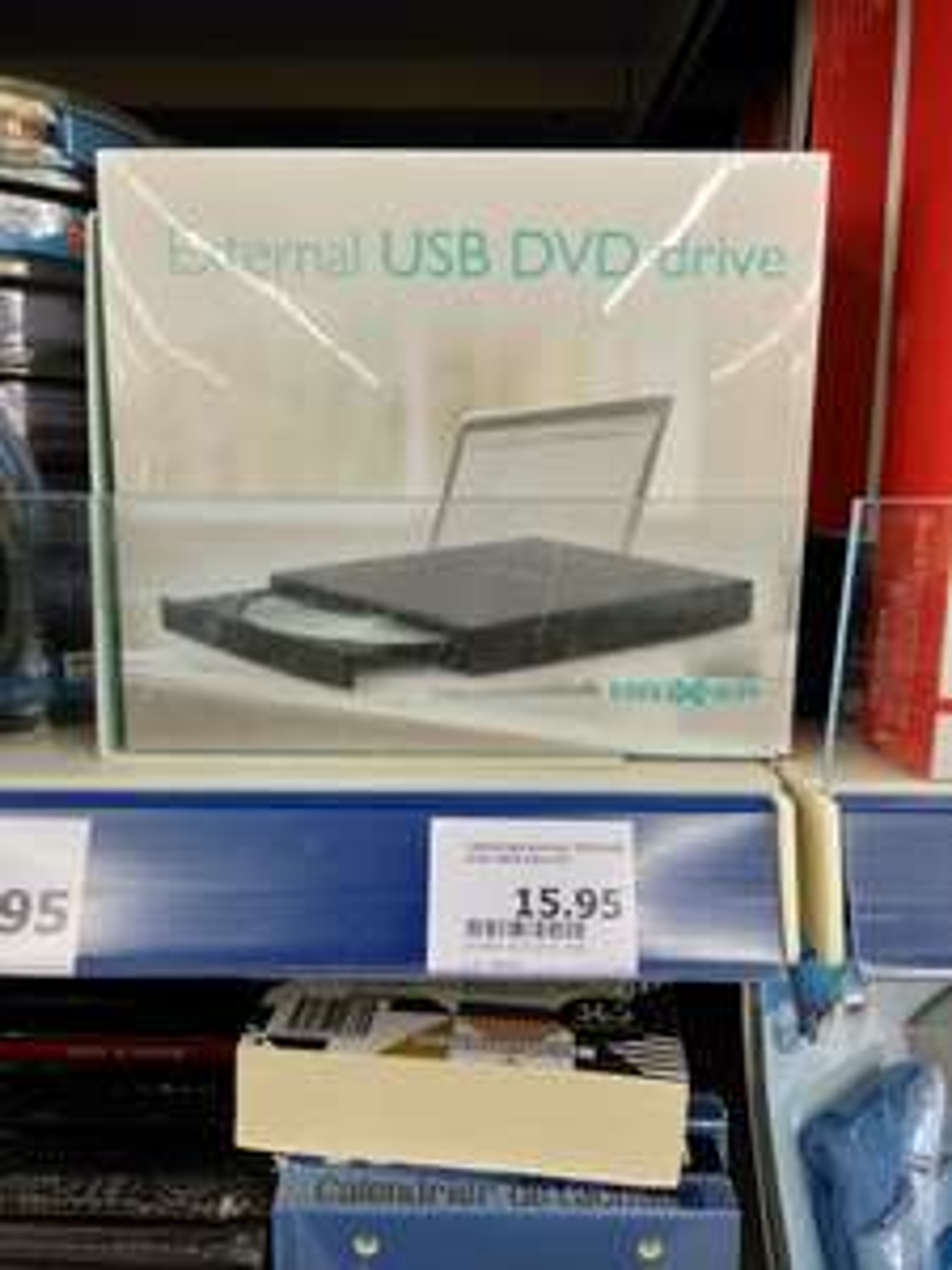 Lecteur CD-DVD/Graveur CD externe maxxter - Llupia (66)