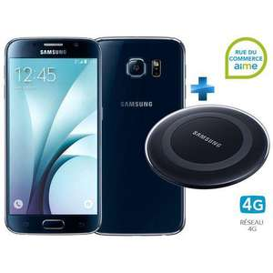 """Smartphone 5.1"""" Samsung galaxy S6 - 32 Go + chargeur à induction Samsung"""