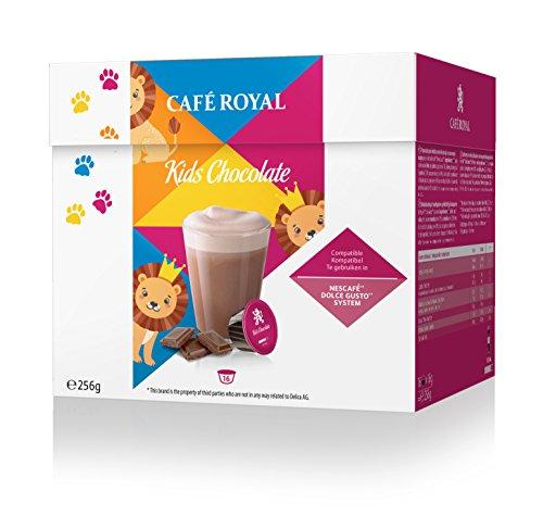 Lot de 3 sachets de 16 soit 48 dosettes de Café Royal Kids ChocolateDolce Gusto®