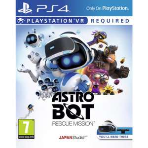 Astro Bot rescue mission sur PS VR