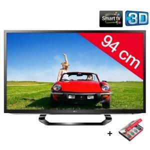 Télévision LG 37LM620S TV LCD 37'' LED 3D HD TV 1080p 4 HDMI USB