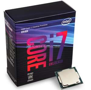 Processeur Intel Core i7-9700K 3,6 GHz
