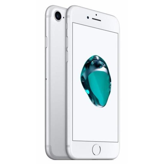 """Smartphone 4.7"""" Apple iPhone 7 - Argent, 32 Go (reconditionné à neuf - vendeur tiers)"""