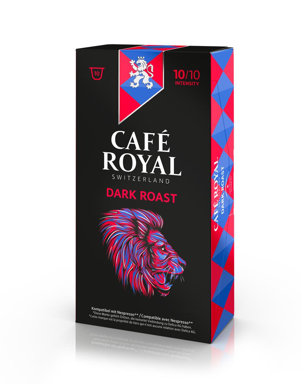 Sélection de Capsules café royal Nespresso en promotion - Ex: Dark Roast - H Market Aulnay-sous-Bois (94)