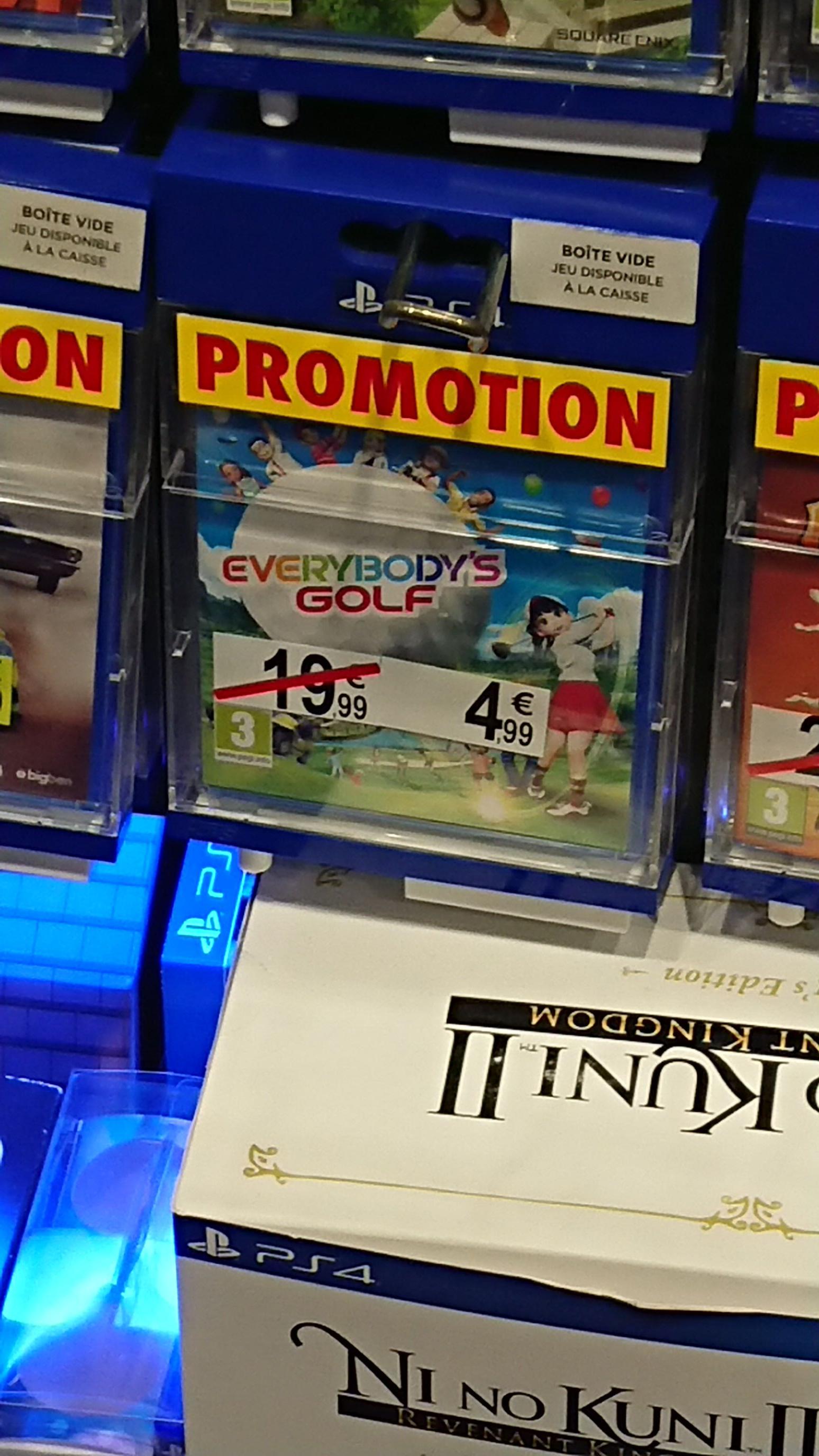 Everybody's Golf sur PS4 - Paris Italie 2 13ème (75)
