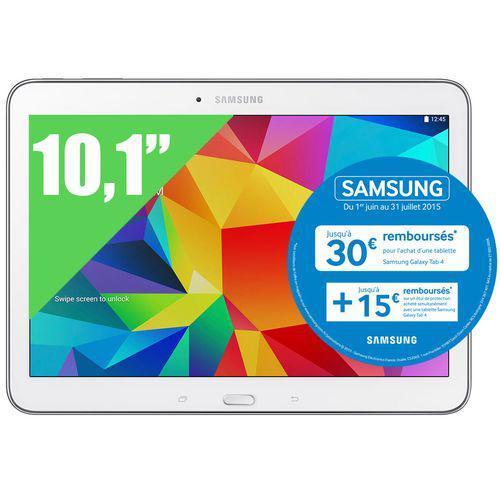 """Tablette 10.1"""" Samsung Galaxy Tab 4 (Avec ODR de 30€)"""