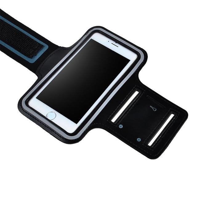 Brassard sport Smartphone pour extérieur (compatible iPhone 6) - Noir