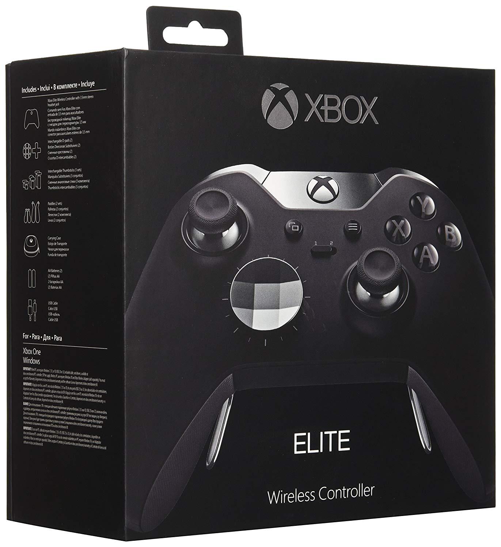 Manette sans fil Xbox One Elite - Noir