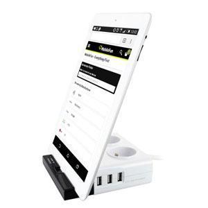 Parasurtenseur Energizer Tab Station - 3 Ports USB et 2 prises secteurs